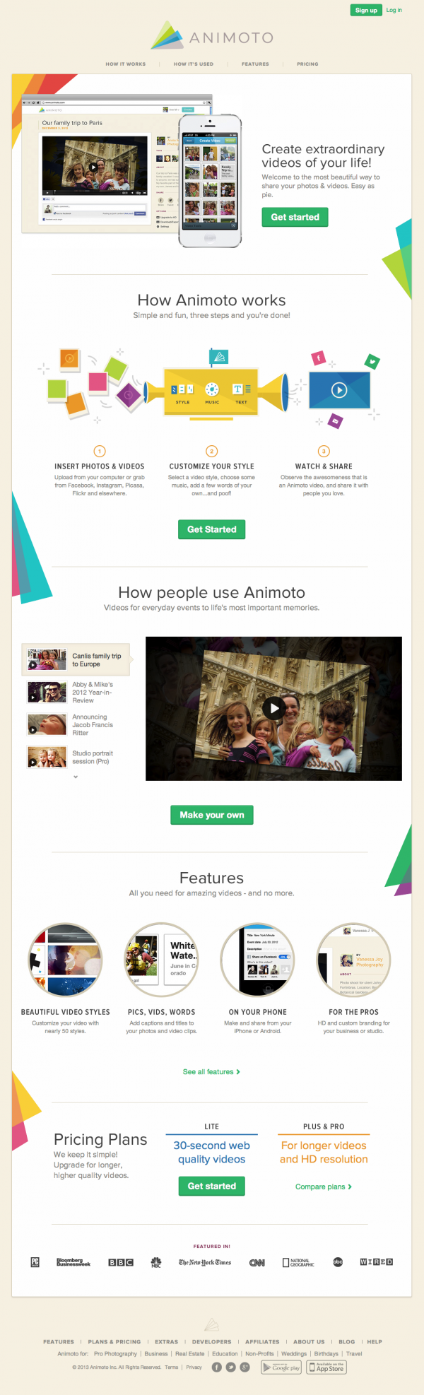 Animoto - Make and Share Beautiful Videos Online