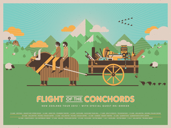Flight of the Conchords - New Zealand Tour 2012