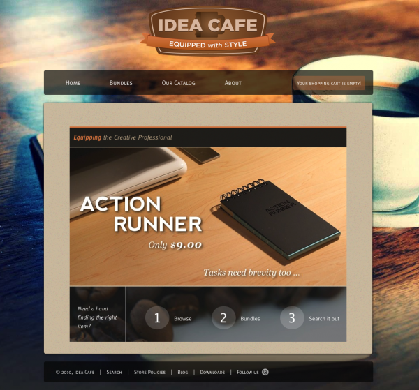 Idea Cafe - Welcome