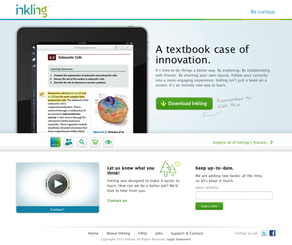 Inkling - Interactive textbooks for iPad
